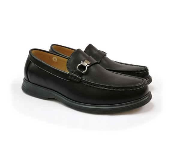 STEPCARE - Health Footwear: SC6095 Men Dress Shoes (Black)