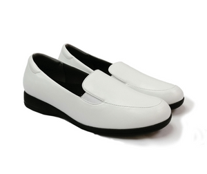 STEPCARE - Health Footwear: SC1022 Women Uniform/ Pro/ Nurse Shoes (White)