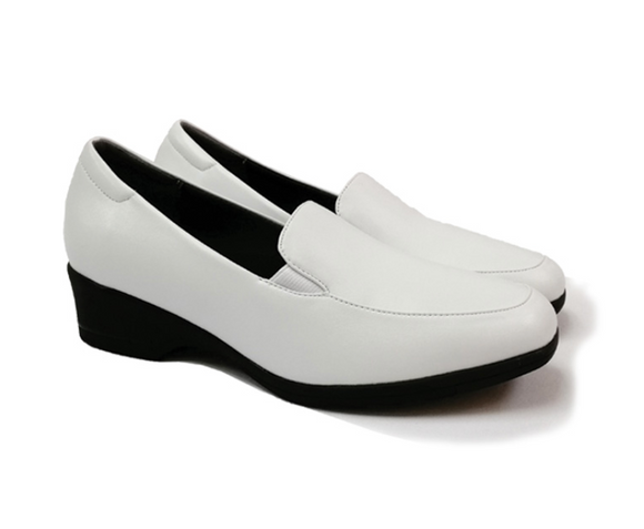 STEPCARE - Health Footwear: SC1024 Women Uniform/ Pro/ Nurse Shoes (White)