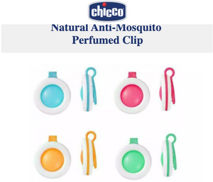 Chicco - Perfumed Clip Anti Mosquito (Assorted Colours)