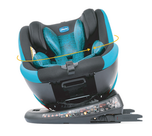 Chicco - Seat4Fix Car Seat (Graphite) [ECE R 44/04 GR. 0+/1/2/3 (0-36KG)]