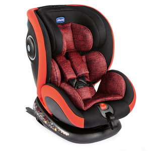 Chicco - Seat4Fix Car Seat (Poppy Red) [ECE R 44/04 GR. 0+/1/2/3 (0-36KG)]