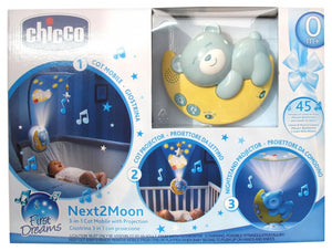 Chicco - First Dreams Next 2 Moon Music & Light Projector (Blue)