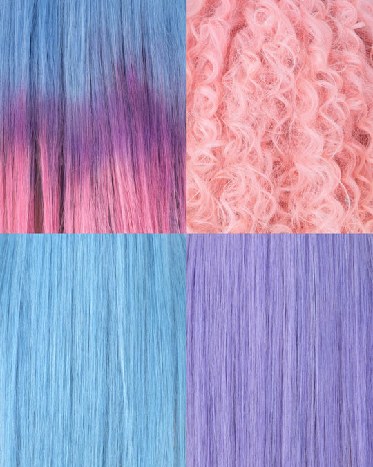 DRÆMLAND swatches ☁️🍬🌈