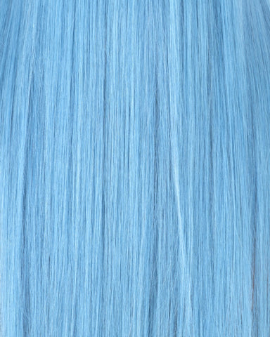 Temper hair by Nyané nyane Azure sky blue pastel colors dreamland collection light swatch colorful