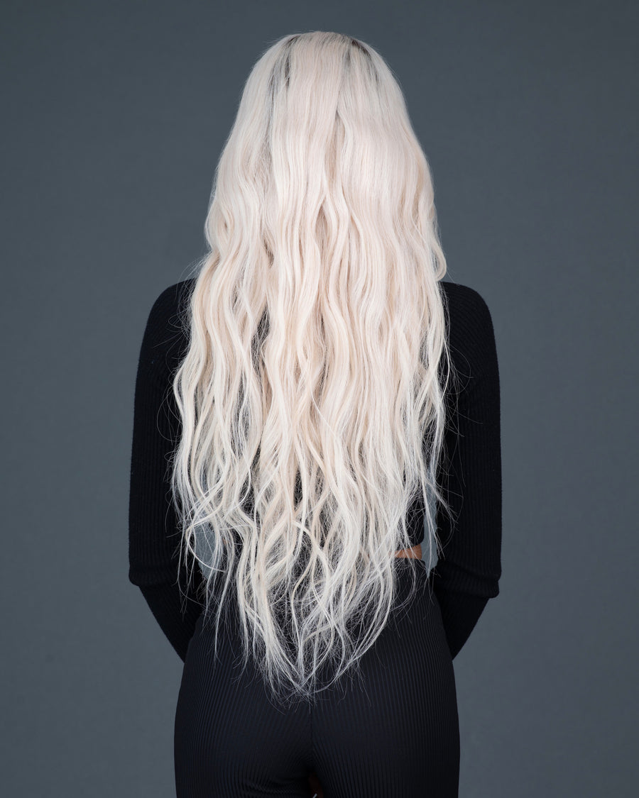 Almond Latte Blonde (+Roots)