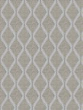 Load image into Gallery viewer, 7 Colorways Embroidered Linen Cotton Diamond Drapery Fabric Beige Grey Blush