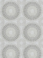 Load image into Gallery viewer, 5 Colorways Medallion Abstract Geometric Drapery Fabric Beige Cream Grey