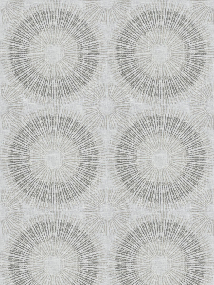 5 Colorways Medallion Abstract Geometric Drapery Fabric Beige Cream Grey