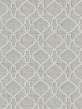 Load image into Gallery viewer, 5 Colorways Linen Cotton Lattice Fretwork Drapery Fabric Beige Black Grey