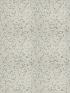 4 Colorways Floral Jacobean Drapery Bedding Fabric Cream Grey Blush