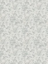 Load image into Gallery viewer, 4 Colorways Floral Jacobean Drapery Bedding Fabric Cream Grey Blush