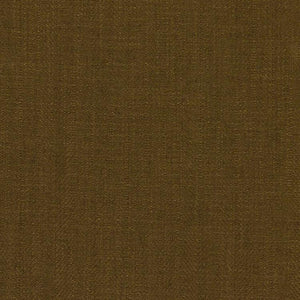 Barrister Brown Drapery Minimalist Linen Fabric / Olive