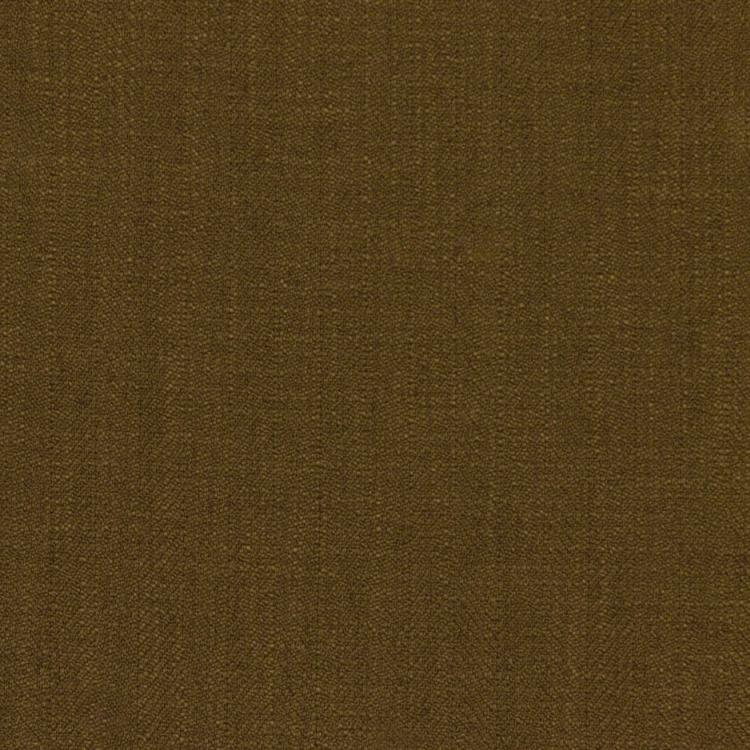 Barrister Brown  Upholstery Minimalist Linen Poly Fabric / Olive