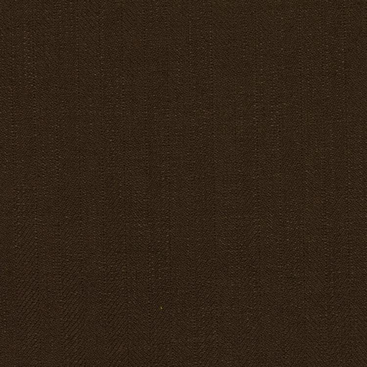 Barrister Brown  Upholstery Minimalist Linen Poly Fabric / Fig