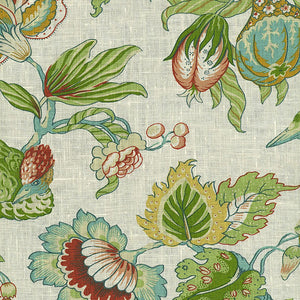 SCHUMACHER SANDRINGHAM FABRIC 1273001 / CREAM