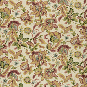 SCHUMACHER SHELTON TREE FABRIC 1305000 / SPICE