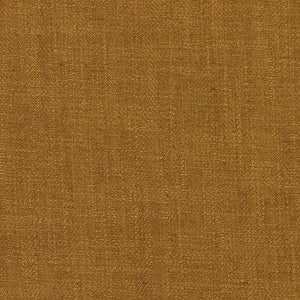 Barrister Gold Upholstery Minimalist Linen Poly Fabric / Gold Rush