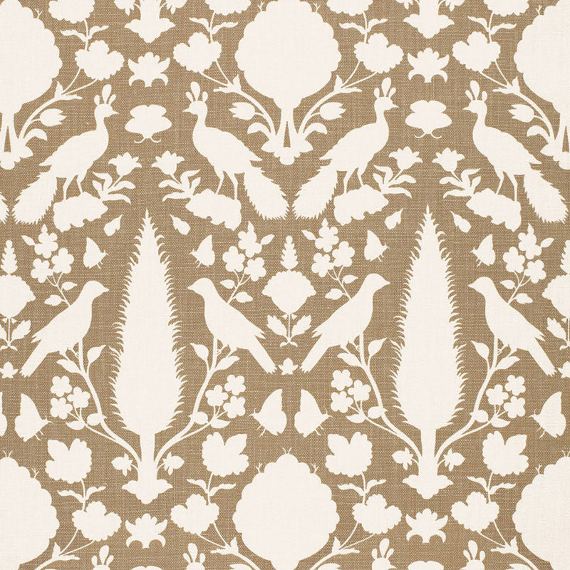 SCHUMACHER CHENONCEAU FABRIC 173561 / FAWN