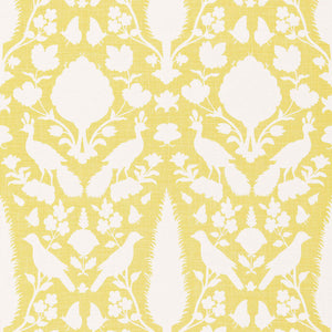 SCHUMACHER  CHENONCEAU FABRIC 173565 / BUTTERCUP