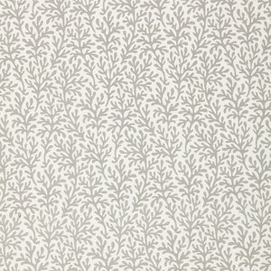 SCHUMACHER SEA CORAL FABRIC 174463 / SMOKE