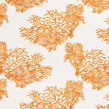 Load image into Gallery viewer, SCHUMACHER GREAT BARRIER REEF FABRIC 175366 / ORANGE