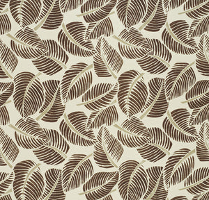 SCHUMACHER COSTA RICA FABRIC 176192 / CHOCOLATE