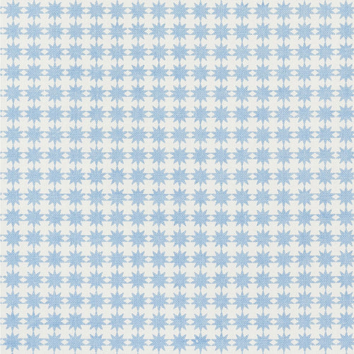 SCHUMACHER STELLA FABRIC 177080 / CHAMBRAY