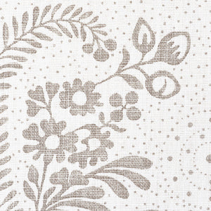 SCHUMACHER MILLICENT FABRIC 177210 / GRISAILLE