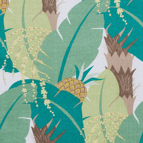 SCHUMACHER ANANAS FABRIC 177543 / PALM