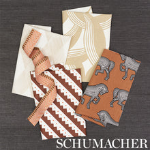 Load image into Gallery viewer, SCHUMACHER ZEPPELIN FABRIC 178020 / BROWN