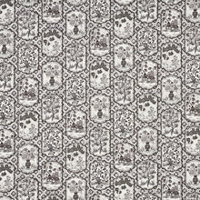 Load image into Gallery viewer, SCHUMACHER TING TING FABRIC 178570 / BLACK