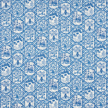 Load image into Gallery viewer, SCHUMACHER TING TING FABRIC 178571 / BLUE