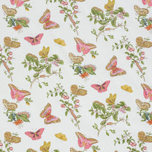 Load image into Gallery viewer, SCHUMACHER BAUDIN BUTTERFLY CHINTZ FABRIC 178720 / BLUSH