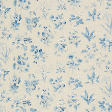 Load image into Gallery viewer, SCHUMACHER FLOREANA FABRIC 178790 / BLUE
