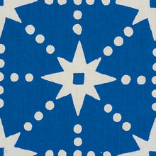 Load image into Gallery viewer, SCHUMACHER STARS FABRIC 179260 / BLUE