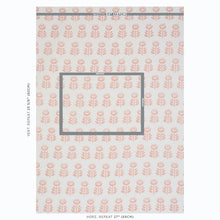 Load image into Gallery viewer, SCHUMACHER ROSENBORG HAND PRINT FABRIC 179401 / PINK