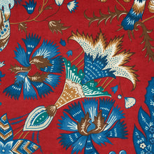Load image into Gallery viewer, Schumacher Majorelle Velvet Fabric 179421 / Red