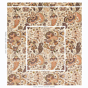 Schumacher Majorelle Velvet Fabric 179422 / Neutral