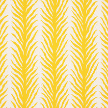 Load image into Gallery viewer, Schumacher Creeping Fern Fabric 179481 / Lemonade