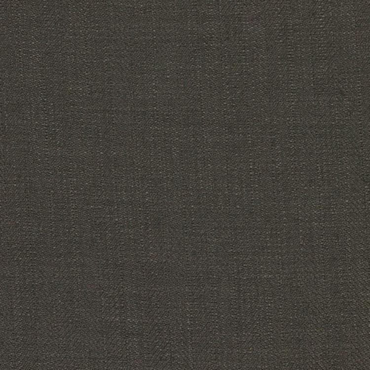 Barrister Gray Upholstery Minimalist Linen Poly Fabric / Sterling