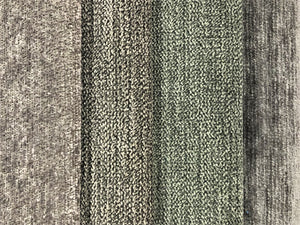 Crypton Stain Water Resistant Mid Century Modern Chenille Stone Pale Gray Grey Upholstery Fabric RMCR XIV