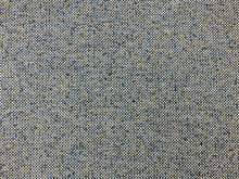 Load image into Gallery viewer, Designer Woven Water & Stain Resistant Teal Blue Chartreuse Green White Boucle Tweed MCM Mid Century Modern Upholstery Fabric
