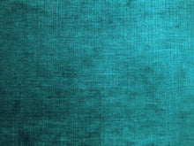 Load image into Gallery viewer, Designer Teal Blue Textured Velvet Upholstery Fabric