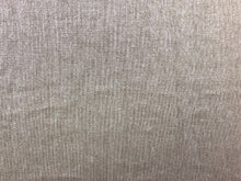 Load image into Gallery viewer, Designer Taupe Neutral Silver Metallic Glazed Beige Linen MCM Mid Century Modern Upholstery Drapery Fabric