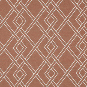 Alton Geometric Upholstery Fabric / Canyon
