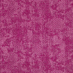 Cardozo Abstract Mid Century Modern Magenta Upholstery Fabric / Raspberry