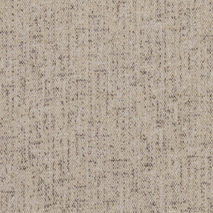 Well Suited Speckled Beige Drapery Light Upholstery Fabric / White Pepper