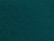 Load image into Gallery viewer, Designer Small Scale Peacock Teal Blue Black Geometric Cut Velvet Upholstery Drapery Fabric