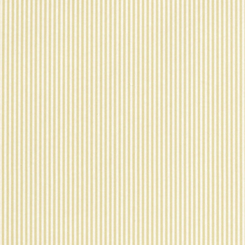 Schumacher Newport Stripe Wallpaper 203791 / Linen